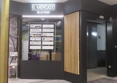 Mercado de la Plaza. Acondicionamiento integral.